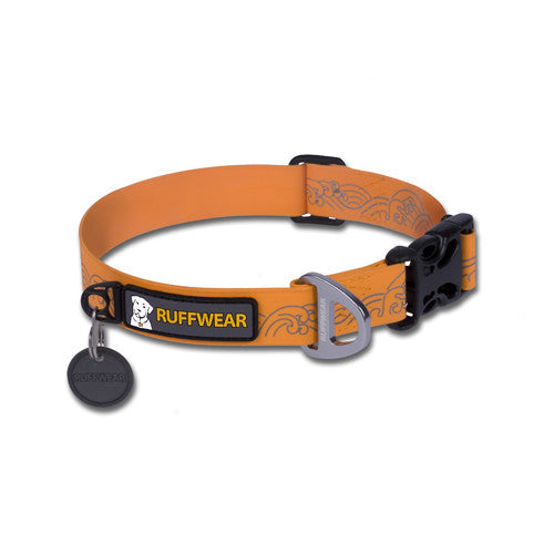 Headwater™ Waterproof Dog Collar (Orange Sunset)