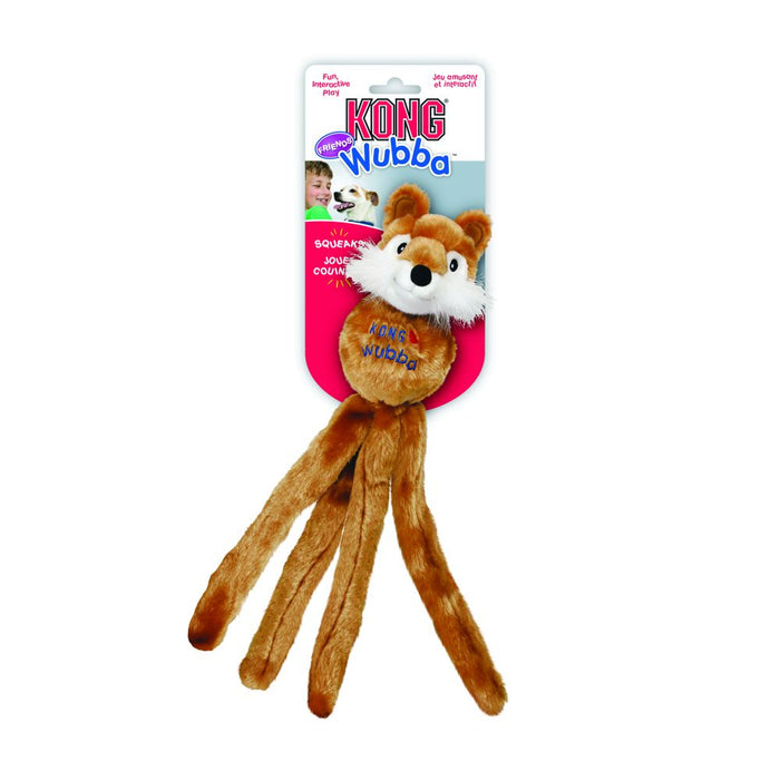 KONG Wubba™ Friends Dog Toy (Assorted colours)