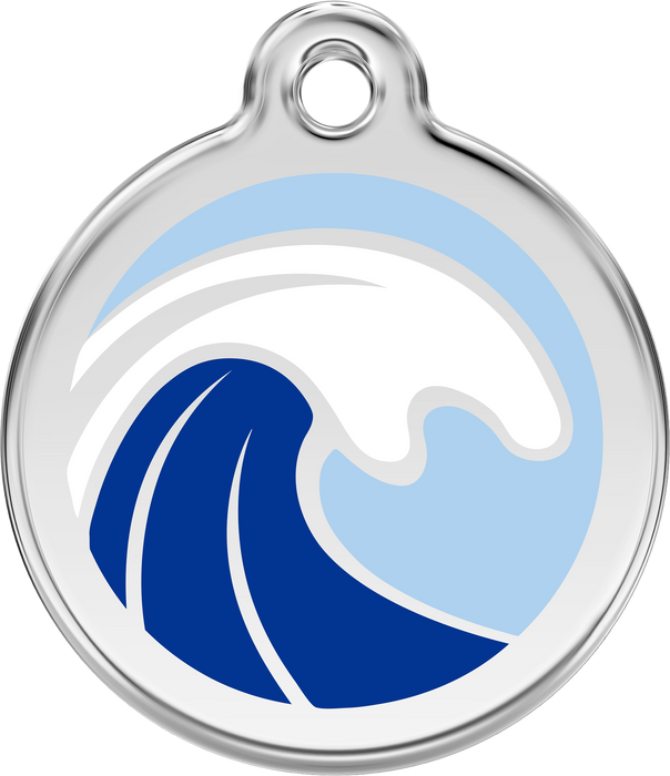 Wave Dog Tag
