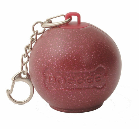 Lush Poo Bag Dispenser (Maroon)