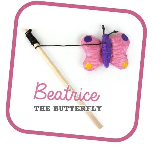 Beco Wand (Beatrice the Butterfly)