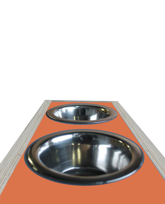 Bite & Slurp Multi pet bowl (Orange)