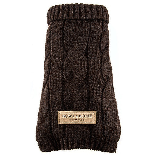 Aspen Dog Sweater (Brown)