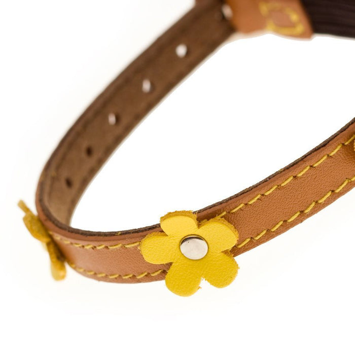 Lucy Orange Cat Collar