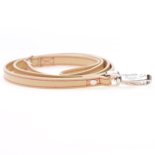 Butterfly Pink/Cream Slim Dog Lead