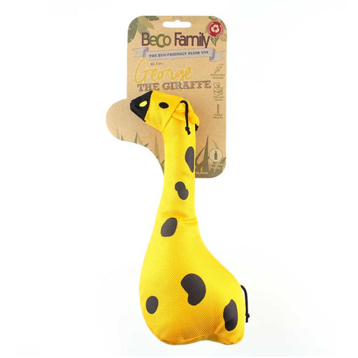 "Beco Plush Dog Toy ""George the Giraffe"""