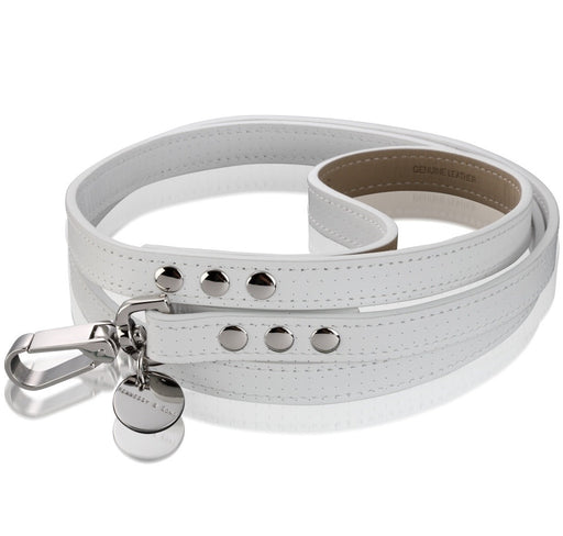 Polo Club Dog Lead (White)