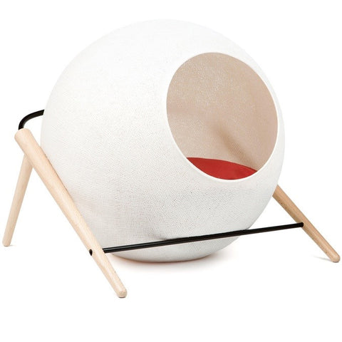 The Ball Cat House (Ivory)