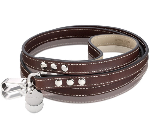 Royal Dog Lead (Chocolate Brown)