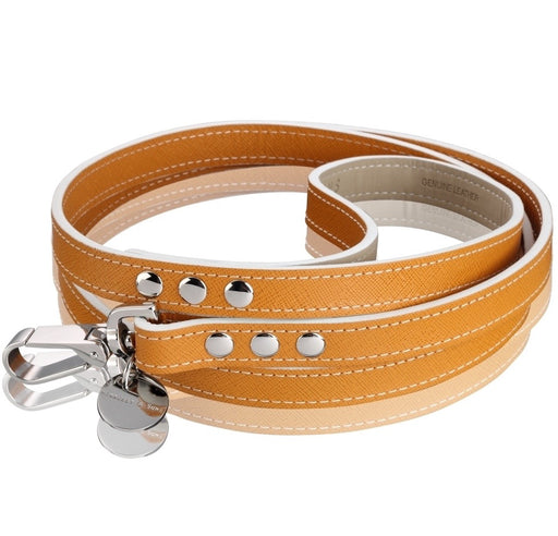 Oxford Saffiano Dog Lead (Luggage)