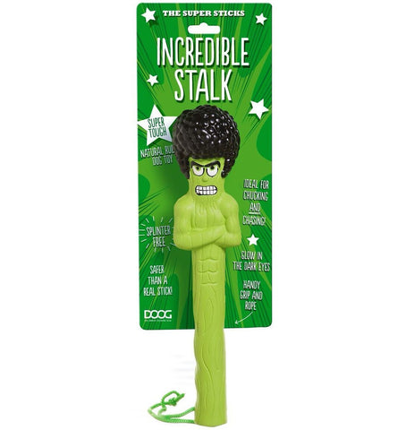"The Super Sticks Fetch Dog Toy ""Incredible Stalk"""