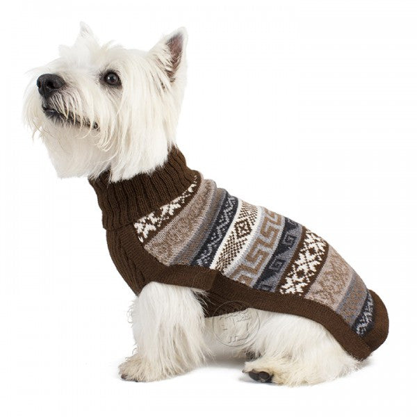 Knitted Dog Sweater (Indigenous)