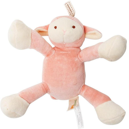 Organic Cotton Lolly Lamb Dog Toy with squeaker