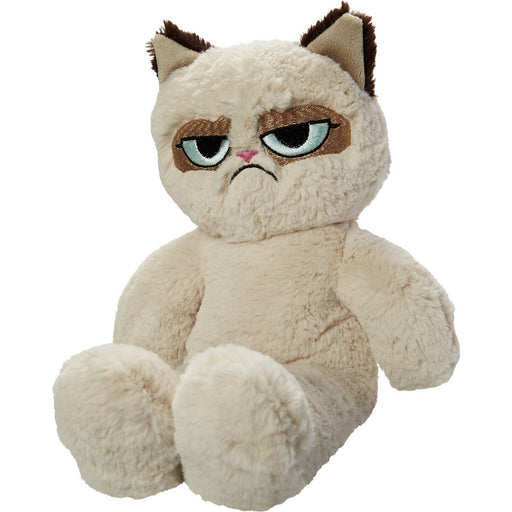 Grumpy Cat Floppy Plush Dog Toy