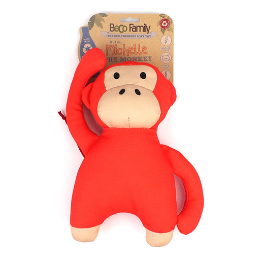 "Beco Plush Dog Toy ""Michelle the Monkey"""