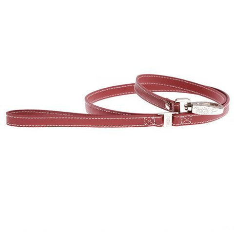 Lucy Red Slim Dog Lead