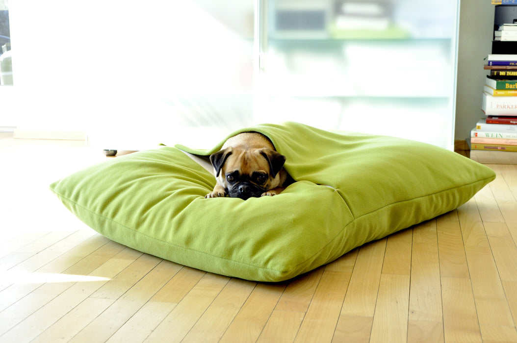 Divan Due Pet Bed with Blanket (Graphite/Light Grey)