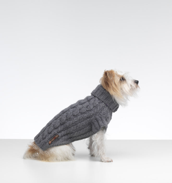Wilmot Dog Jumper (Grey)