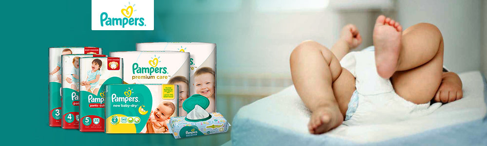 Pampers Landing Page Banner