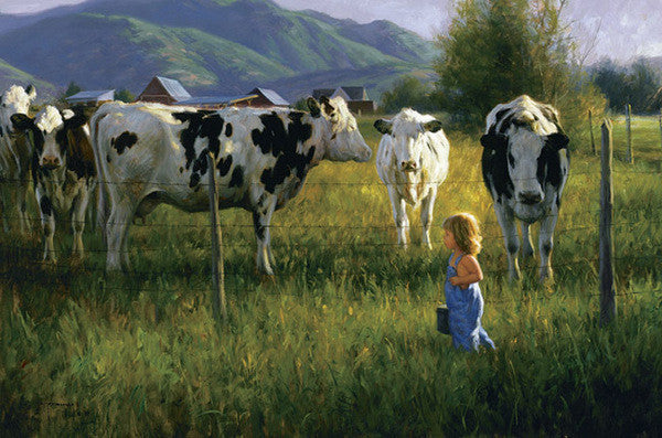 Anniken and the Cows - Cow Art and More