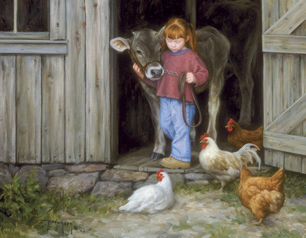 Best of Friends - Cow Art and More