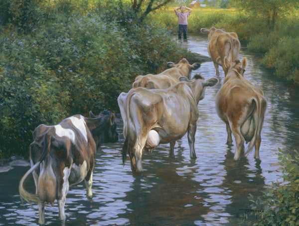 Come on Girls - Cow Art and More