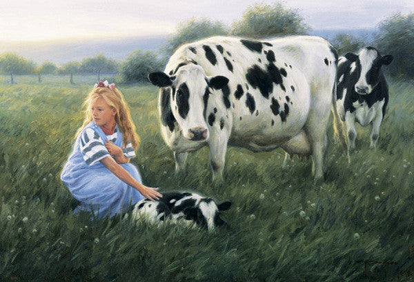The First Morning - Cow Art and More