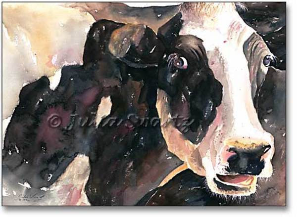 Curious Cow - Cow Art and More