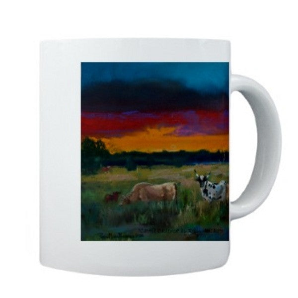 Cattle Cadence mug - Cow Art and More