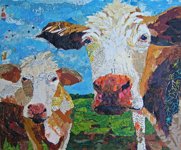 Two Muse - Cow Art and More