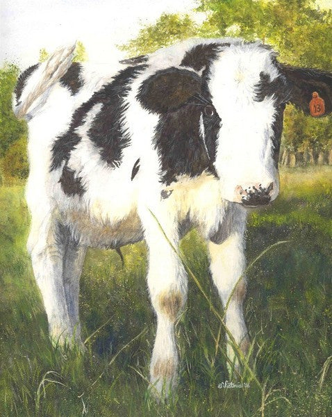 Lucky - Cow Art and More