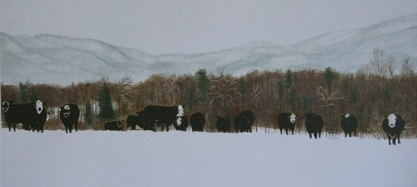 Winter's Way - Cow Art and More
