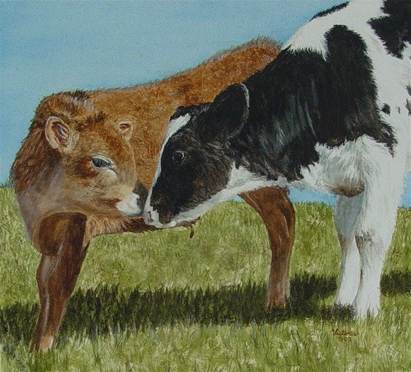 Pasture Pals - Cow Art and More