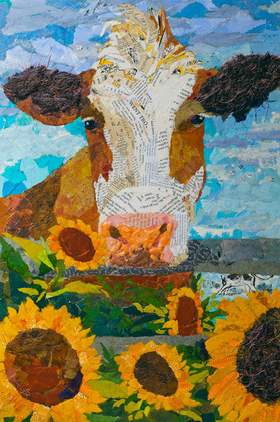 Buttercup no. 1 - Cow Art and More
