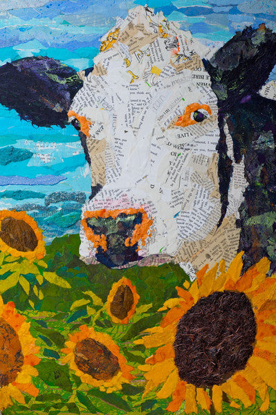 Buttercup no. 2 - Cow Art and More