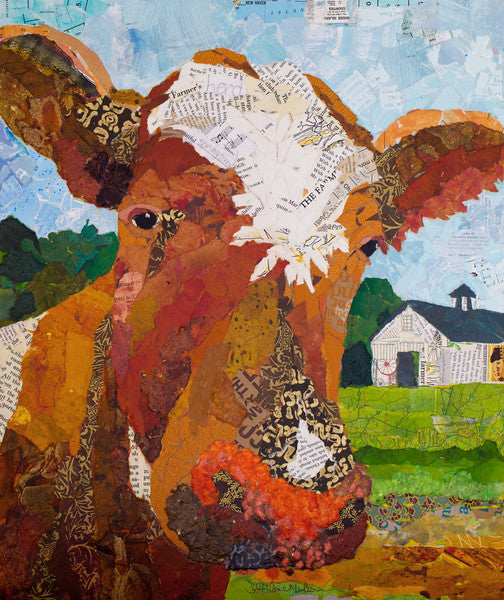 Contented Cattle 1 - Cow Art and More