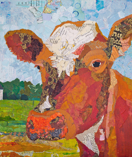 Contented Cattle 2 - Cow Art and More