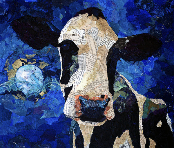 Over the Moon - Cow Art and More