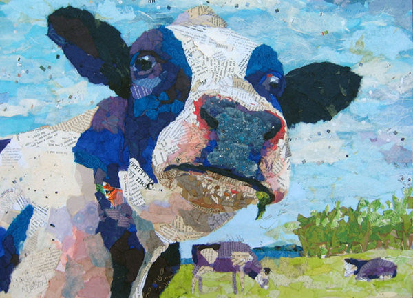 Out to Pasture - Cow Art and More