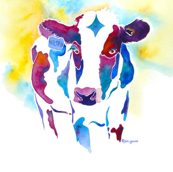Holstein cross stitch pattern - Cow Art and More