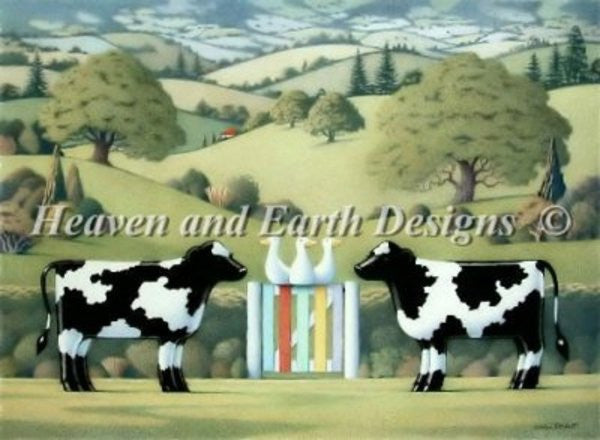 Cow Cross Stitch Pattern - Cow Art and More