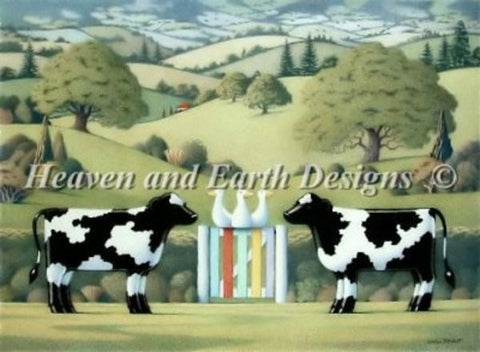 Cow Cross Stitch Pattern
