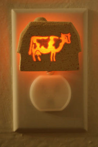 Holstein cow light