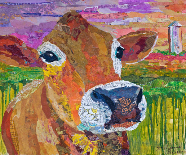 Jersey Girl - Cow Art and More