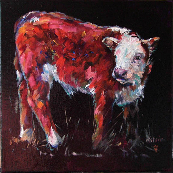 Fuzzy - Cow Art and More