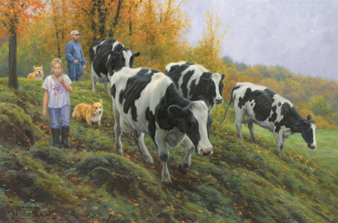 Corgis and Cows