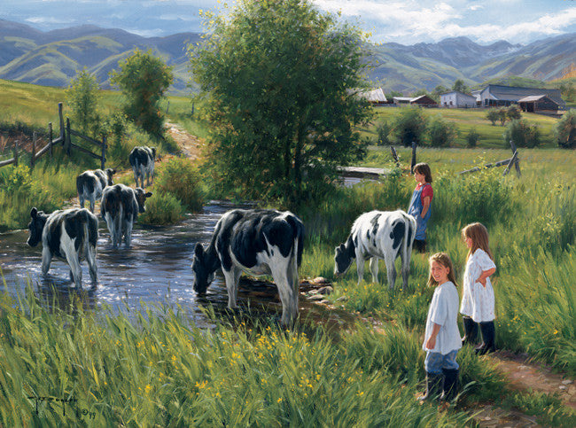 Farms are for Kids - Cow Art and More