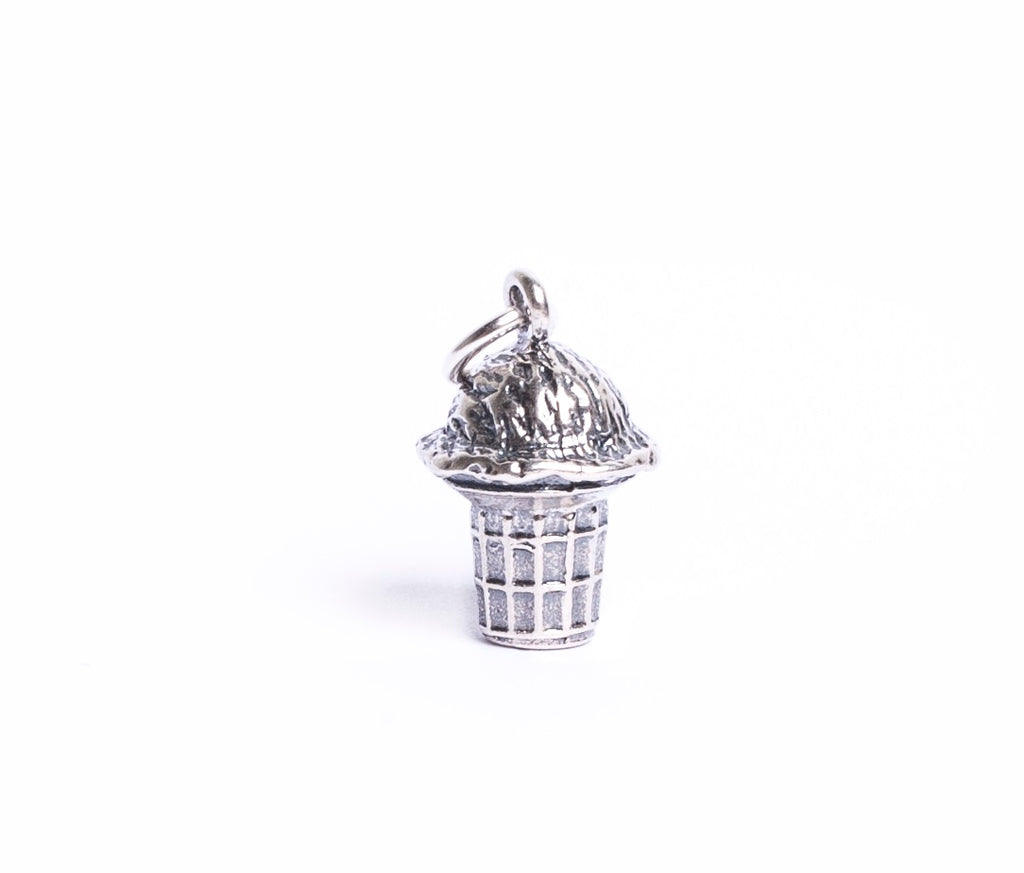 Ice cream cone charm charm - Cow Art and More