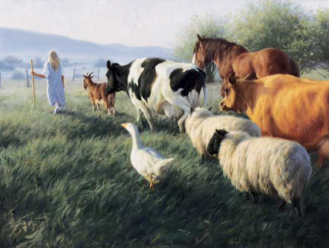 Menagerie of Friends - Cow Art and More