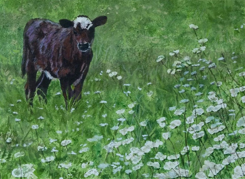 Outstanding in his field - Cow Art and More